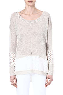FRENCH CONNECTION Laila lace jumper
