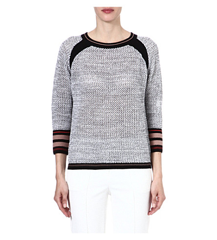 FRENCH CONNECTION Jonny knitted jumper (Souksunrise/atlassan