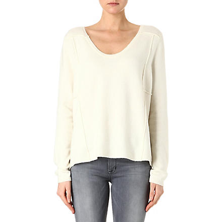 FRENCH CONNECTION Vhari knitted jumper (Brule