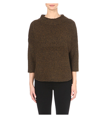 FRENCH CONNECTION Rsvp Now knitted sweater (Green