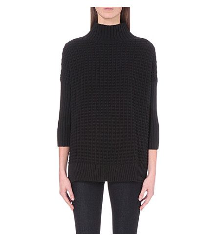 FRENCH CONNECTION Mozart knitted jumper (Black