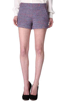 FRENCH CONNECTION Rainbow tweed shorts