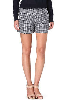 FRENCH CONNECTION Bonser checked shorts