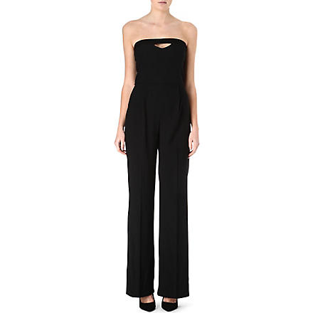FRENCH CONNECTION Winter Song strapless jumpsuit (Black