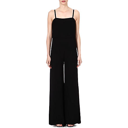 FRENCH CONNECTION Calla Collette strappy jumpsuit (Black