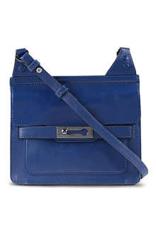 FRENCH CONNECTION Leather shoulder bag