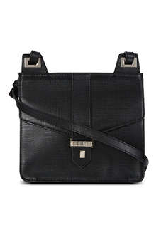 FRENCH CONNECTION Elina leather cross-body bag