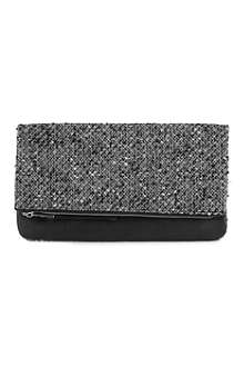 FRENCH CONNECTION Silva clutch bag