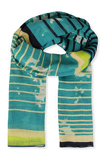FRENCH CONNECTION Sunny Striped scarf