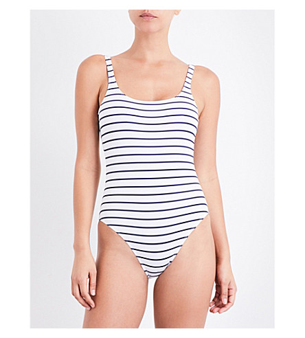 FRENCH CONNECTION Classic striped swimsuit (Stripe