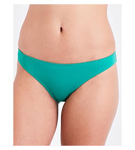 FRENCH CONNECTION 经典比基尼三角裤 (翠绿 + 绿色