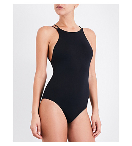 FRENCH CONNECTION String Back swimsuit (Black