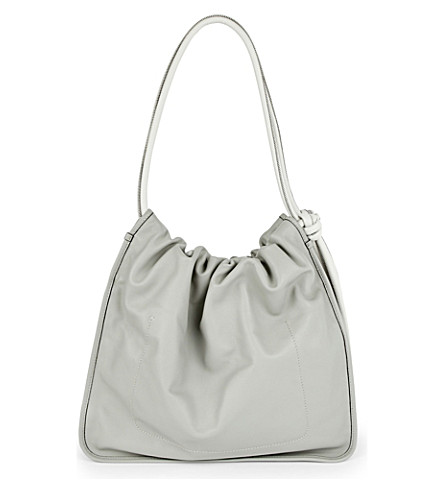 MARNI Nuage leather shoulder bag (Inox
