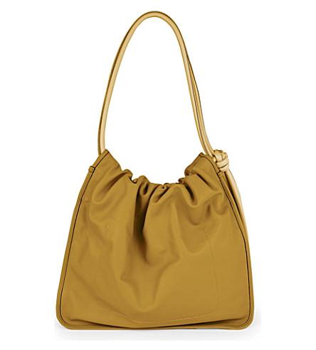 MARNI Nuage leather shoulder bag (Herb