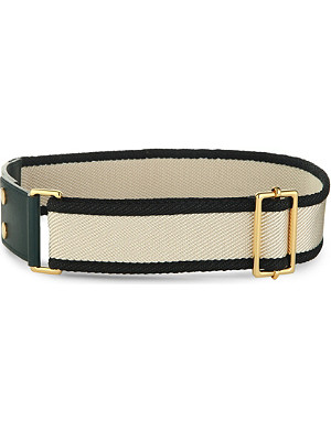 MARNI Canvas and leather belt