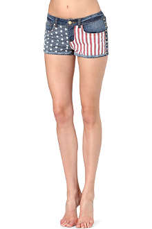 PRIMARK Studded America mini shorts