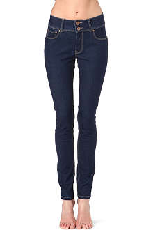 PRIMARK Push-up & push-in skinny mid-rise jeans