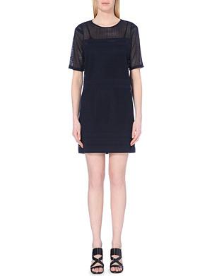 WAREHOUSE Panelled lace tunic dress