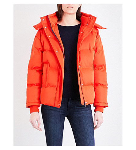 WAREHOUSE Fashion padded coat (Red