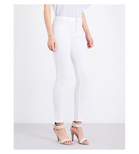 WAREHOUSE Powerhold slim-fit skinny jeans (White
