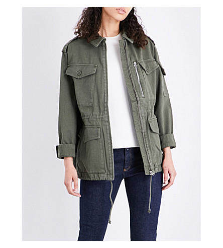 WAREHOUSE Military cotton jacket (Khaki