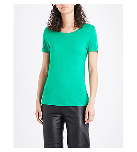 WAREHOUSE Smart jersey T-shirt (Green