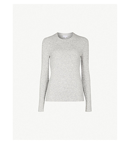 WAREHOUSE Crewneck knitted jumper (Grey
