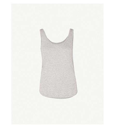 WAREHOUSE Swing jersey vest top (Grey