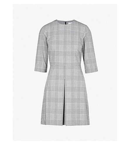 WAREHOUSE Checked woven dress (None