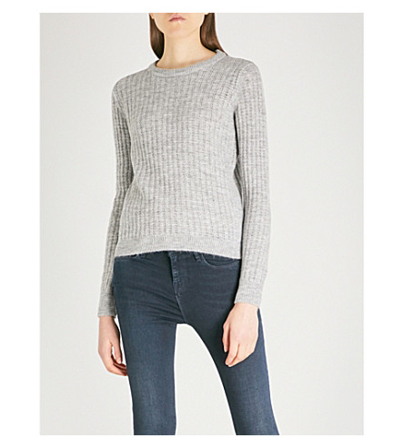 WAREHOUSE Cosy Stitch knitted jumper (Grey