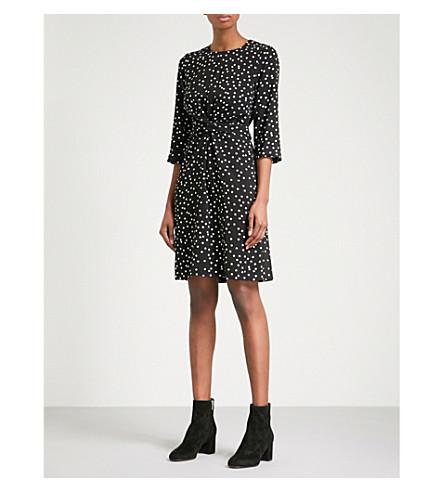 WAREHOUSE Polka-dot woven dress (None