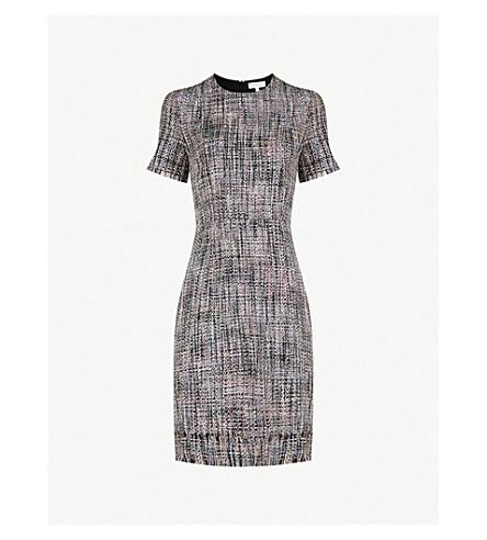WAREHOUSE Molly tweed mini dress (None