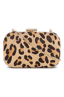 WAREHOUSE Animal printed clutch