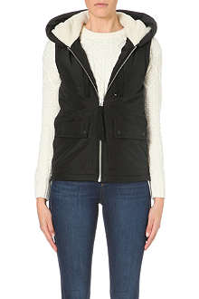 WAREHOUSE Ribbon detail gilet