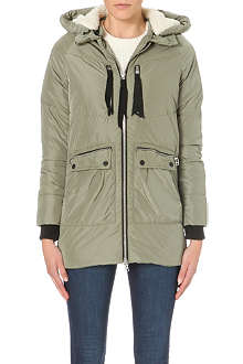 WAREHOUSE Ribbon detail padded jacket
