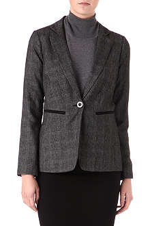 WAREHOUSE Checked suit jacket