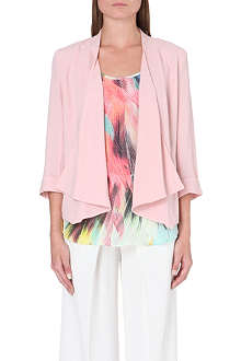 WAREHOUSE Waterfall draped jacket