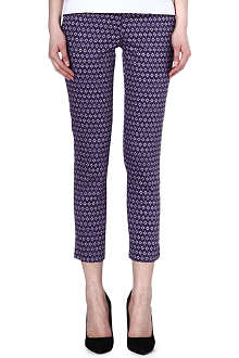 WAREHOUSE Geo print trousers