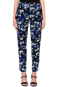 WAREHOUSE Floral trousers