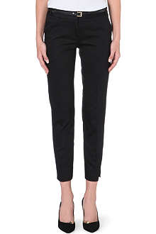 WAREHOUSE Mid-rise sateen trouser