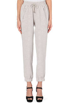 WAREHOUSE Textured jogging bottoms