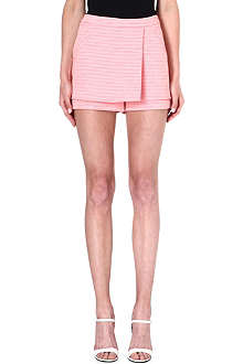 WAREHOUSE Neon tweed skort
