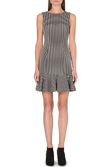 WAREHOUSE Mini gingham dress
