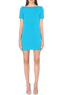 WAREHOUSE Shoulder Pad shift dress