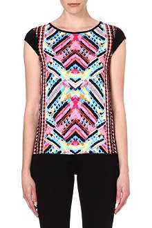 WAREHOUSE Summer Aztec t-shirt