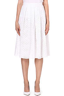 WAREHOUSE Crochet midi skirt