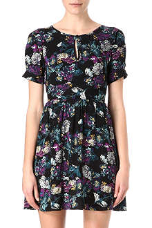 WAREHOUSE Tapestry floral dress