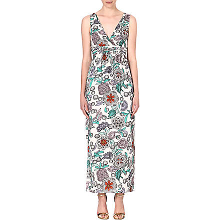 WAREHOUSE Celeste floral-print maxi dress (Multi