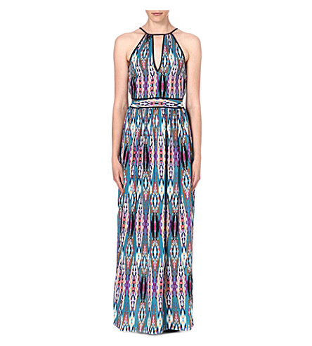 WAREHOUSE Linea Aztec maxi dress (Multi