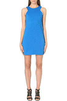 WAREHOUSE Quilted shift dress